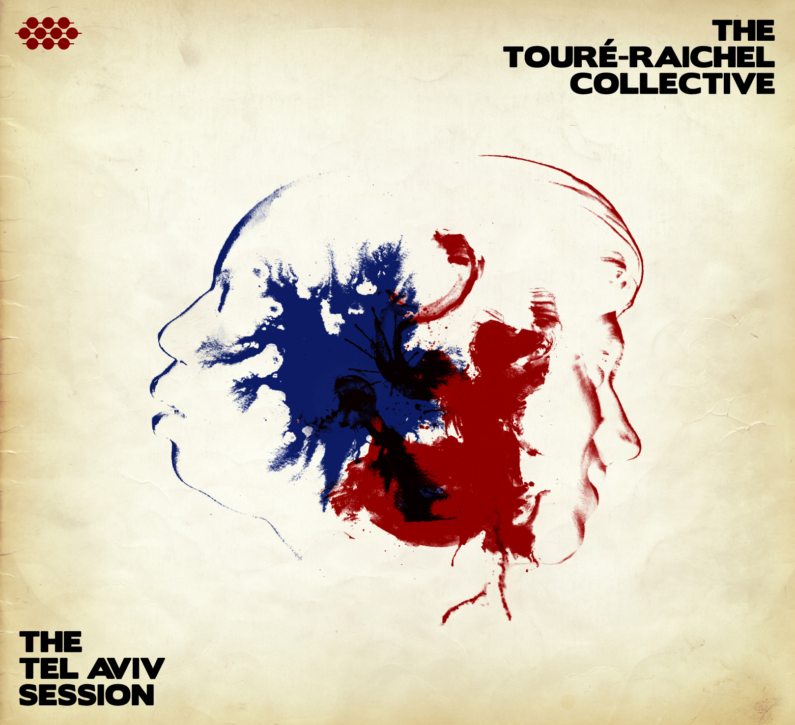 אלבום THE TOURÉ-RAICHEL COLLECTIVE  THE TEL AVIV SESSION עטיפה